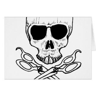 skull-and-cross-shears card