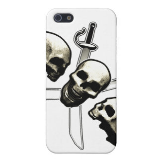 Skull and Cross-Swords Cases For iPhone 5