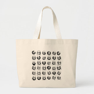 Skull and CrossBone Large Tote Bag