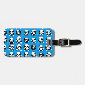 Skull and CrossBone Luggage Tag