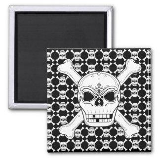 Skull And Crossbone Magnet