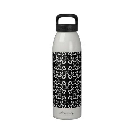 Skull and Crossbone Water Bottle