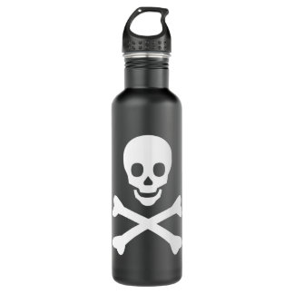 Skull and Crossbones 24oz Water Bottle