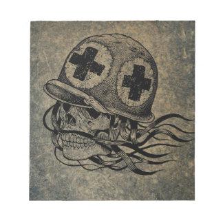 Skull-and-crossbones 2 notepad