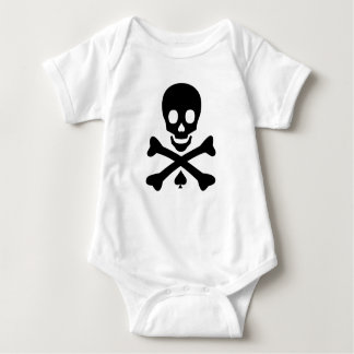 Skull and Crossbones Baby Bodysuit