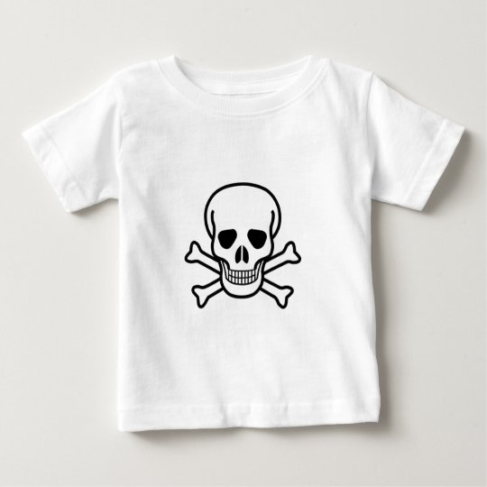 Skull and Crossbones Baby T-Shirt