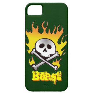 Skull and Crossbones Beast Phone Case