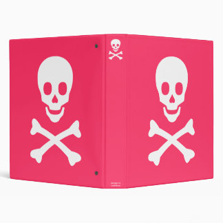 Skull and Crossbones Binder