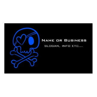 Skull and Crossbones Double-Sided Standard Business Cards (Pack Of 100)