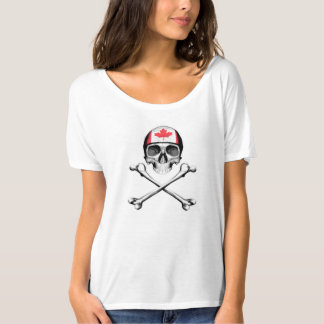 Skull and Crossbones: Canada T Shirt