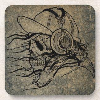 Skull-and-crossbones Coaster