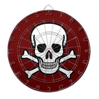Skull and Crossbones Dartboard