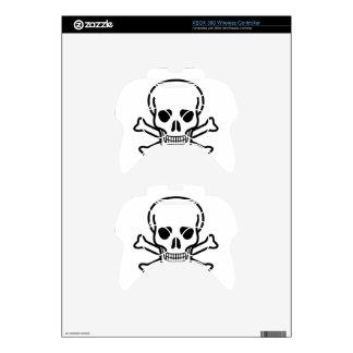 Skull and Crossbones death symbol Xbox 360 Controller Skin