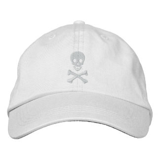 Skull and Crossbones Embroidered Hats