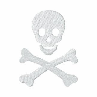 Skull and Crossbones Embroidered Jacket