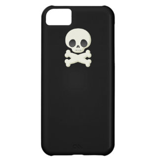 Skull and Crossbones emo small skulls graphic case iPhone 5C Covers