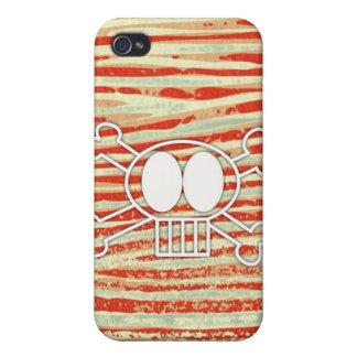 Skull and Crossbones iPhone 4 Case