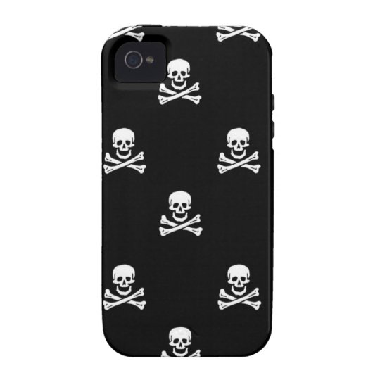 Skull and Crossbones iPhone Cover