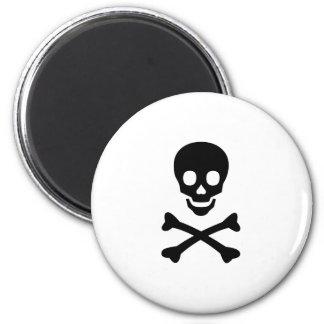 Skull and Crossbones Item Magnet