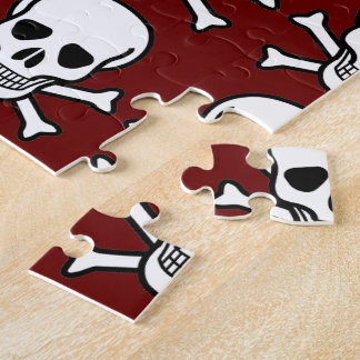 Skull and Crossbones Jigsaw Puzzle