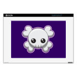 Skull and Crossbones Laptop Decal