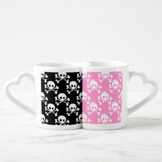 Skull And Crossbones Lovers Mug