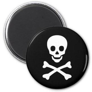 Skull and Crossbones Magnet