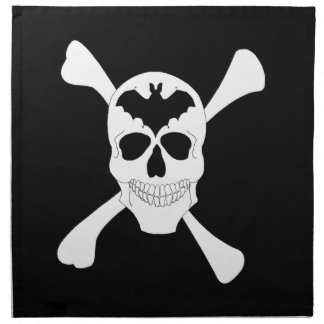 Skull And Crossbones Napkins