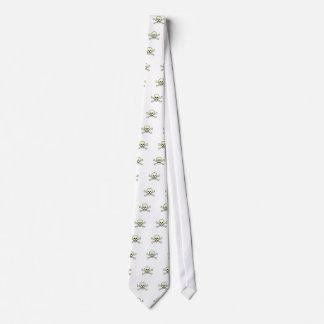 Skull and Crossbones Neck Tie