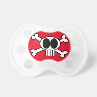 Skull and Crossbones Pacifer Pacifier