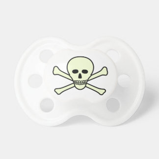 Skull and Crossbones Pacifier