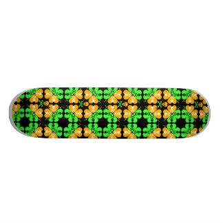 Skull and Crossbones Pattern Skateboard Deck