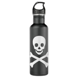 Skull and Crossbones 24oz Water Bottle