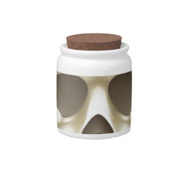Skull and Crossbones Pirate Cartoon Candy Dishes