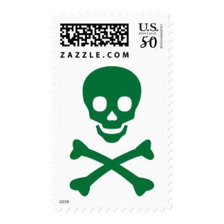 Skull and Crossbones Postage