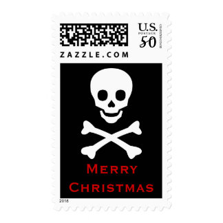 Skull and Crossbones Postage