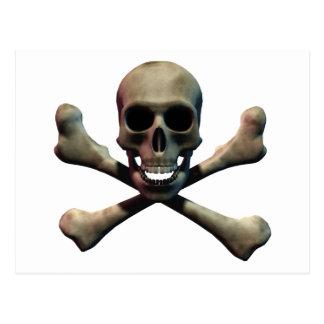 Skull and Crossbones Postcards
