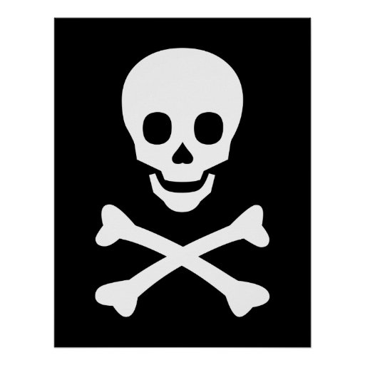 Skull And Crossbones Printable | Search Results | Calendar 2015