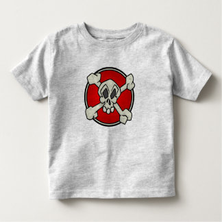 Skull and Crossbones Shirt for Toddlers