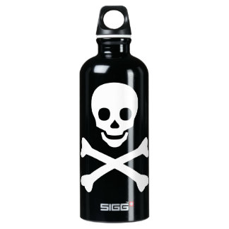 Skull and Crossbones SIGG Traveler 0.6L Water Bottle