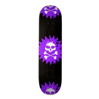 Skull and Crossbones Skateboard