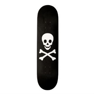 Skull and Crossbones Skateboard Deck