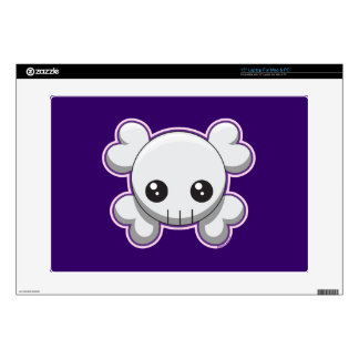 Skull and Crossbones Decal For Laptop