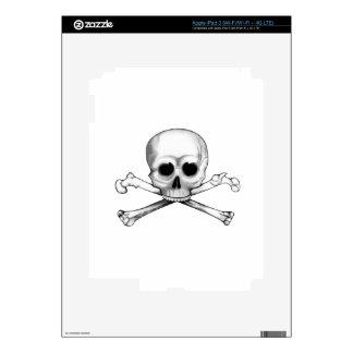 Skull and Crossbones Skin For iPad 3