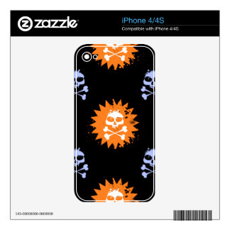 Skull and Crossbones Skins For iPhone 4