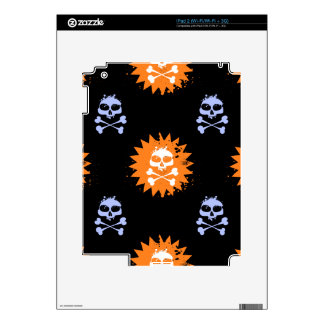 Skull and Crossbones Skins For The iPad 2