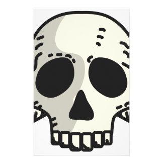 Skull and Crossbones Stationery