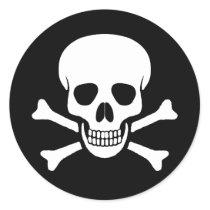 Skull and Crossbones Sticker