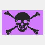 """Skull and Crossbones"" Stickers"