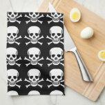 Skull and Crossbones Towels